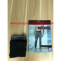 Buy cheap Antistatic Plastic Bags With Hooks 4 Colors Gravure Printing SGS Reach ROHS product