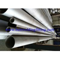 China Bright White Duplex 31803 Stainless Steel Seamless Tubes For Construction on sale