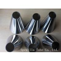 Buy cheap 316L Stainless Steel Clamp fittings Polished Ferrules Tee Elbows ASTM A270 from Wholesalers