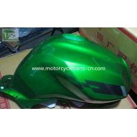 Buy cheap Green Steel Alloy TX200 motorcycle fuel tanks 18L , Red / Yellow / Black product