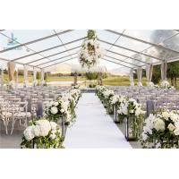 China Luxury Wedding Event Structure Outdoor Transparent Roof Fabric Tent Canopy on sale