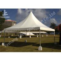 China No Wall High Peak Tents, Pagoda Event Party Tent Polyester Waterproof Fabric Cover on sale