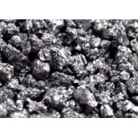 China Low Sulphur Calcined Petroleum Coke , CPC Coke For Mechanical Industry on sale