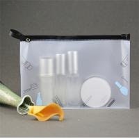 Buy cheap PVC Transparent Makeup Pouch Water Resistant With Stable Performance product