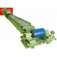 Buy cheap discontinuous aluminum / PU Steel roof sandwich panel roll forming machinery product