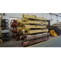 Buy cheap Customized Professional drawing Steel Crawler Track Fabrication , Excavator Component product