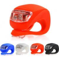 Buy cheap 2016 Hot sales Bicycle Accessories silicone bike light led bicycle lights product