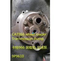 Quality Hydraulic part CAT966 Wheel Loader Transmission Pump 9P9610 for sale