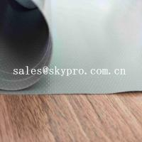 Buy cheap Customized PVC Coated Polyester Oxford Fabric Green PVC Coated Fabric Tarpaulin For Truck Cover product