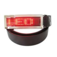 Buy cheap LED runing signs and message belt buckle product