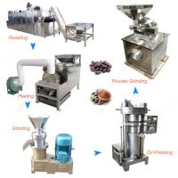 Buy cheap 100-300KG/H Cacao Powder Making Machine Cocoa Powder Production Line product