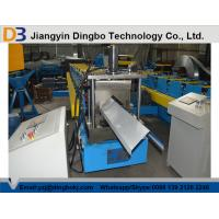Buy cheap High Precision Metal Roof Ridge Cap Roll Forming Machine With 5 Ton Decoiler product