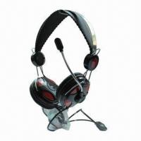 Buy cheap New Metallic Headset, Perfect for Listening Music, Chating and Video Games Online product