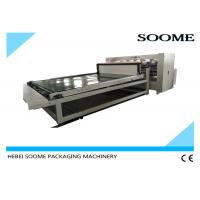 Buy cheap Electrical Thin Blade Slitter Scorer Machine , Automatic Slitting Creasing Sheet Cutting Machine product