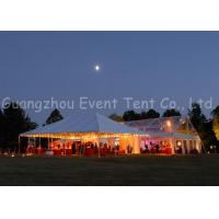 Buy cheap Prefab Clear Span Tent  Modern Luxury Decoration For Festival / Buffet Dinner product