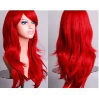 Buy cheap Colorful Curly Cosplay Wig Long Hair Heat Resistant Spiral Costume Wigs product