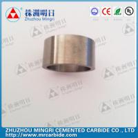 Buy cheap Grade YG22C Tungsten Carbide Roller Rings good wear resistance and bending strength product