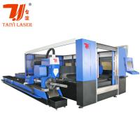 Buy cheap Taiyi Cypcut Fiber 3D Laser Cutting Machine 1070nm Laser Wavelength product