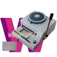 Buy cheap PVC ID cards Embosser machine + indent print 2in1 EI72 product