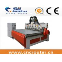 Buy cheap multiple heads cnc router machine from wholesalers