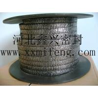 Buy cheap Reinforced graphite packing    Flexible graphite packing product