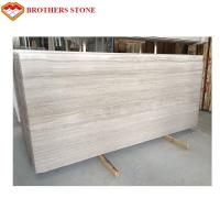 Buy cheap Large Size White Wood Vein Marble Fashionable Appearance OEM Service product