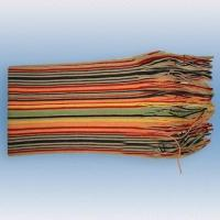 China 100% Acrylic Multicolor Warp Knitted Scarf on sale