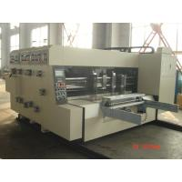 Buy cheap Slotting Die-Cutting Automated Carton Box Printing Machine product