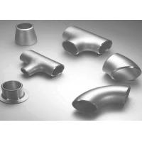 Buy cheap Carbon Steel / Stainless Steel Butt Weld Fittings Steel Pipe Tee with ISO9001 Approvals product