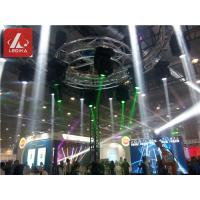 Buy cheap Rotating Circle Aluminum Trusses Revolving Lamp For Event / Club / Big Show from Wholesalers