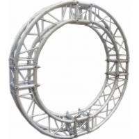 Buy cheap Burliness Silver SN300mm*300mm Circle Aluminum Lighting Truss For Light , LED product