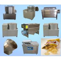 Buy cheap High Performance Potato Chips Production Line Fast Speed ISO Certification product