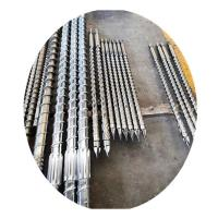 Buy cheap Industry Injection Molding Machine Screw Solid Channel And Melt Channel product