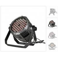 Buy cheap IP65 Waterproof Outdoor 54*3W RGBW LED Par Can Lights 50,000 Hours Life Span product