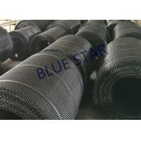 China Plain Weave Carbon Steel Gravel Screen Mesh , Quarry Ming Crimped Wire Mesh on sale