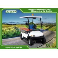 Buy cheap CE Approved Electric Ambulance Car 2 Seats 3.7KW Motor Ambulance Golf Cart product