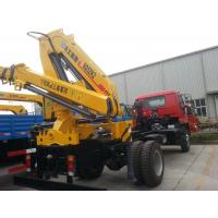Buy cheap XCMG 2035kg Crane, Durable 5 Ton Hydraulic Lifting Truck Mounted Crane from wholesalers
