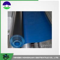 Buy cheap Ultra Tech HDPE Pond Liners Textured Black For Canal 1.00mm PE product