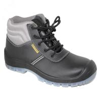 Buy cheap pu/pu outsole with steel toe cap steel pleate blaack safety shoes for man product