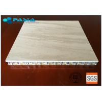 Buy cheap Marble Stone Honeycomb Composite Panels 20 - 25 Mm Thickness For Office Decoration product