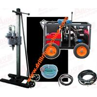 Portable Core Drilling Machine , Road Foundation Exploration Borehole Drilling Rig