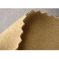 Buy cheap Smooth Synthetic Suede Material Kint , Water Resistant Stretch Suede Fabric product