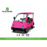 Buy cheap Mini Electric Four Person Golf Cart , Electric Tourist Car For Park City Walking Street product