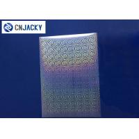 Buy cheap Clear Smart Card Material Overlay PVC Holographic Film For ID Cards / VIP Card product
