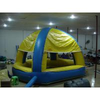 China 0.45mm PVC Tarpaulin Customized Inflatable Dome Tent / Inflatable Giant Tent For Wedding Party on sale