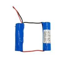 Buy cheap Custom 7.4 Volt 2500mAh 18650 Lithium Ion Battery 1C Discharge product