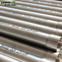 China Api 5ct Oil Well Casing Pipe , STC Thread Male / Female Coupling Perforated Casing Tube on sale