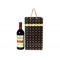Buy cheap Party Wine Champagne Bottle Gift Colored Paper Bags With Handles product