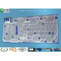 China Single Layer PET Flex Circuit Board Carbon Paste For Toy Game Player Membrane Switch on sale