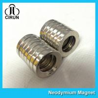 China Multipole Radial Magnetization Neodymium Magnets Ring Shaped for Speaker on sale